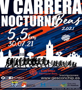 ATLETISMO | Proximo viernes V Carrera Nocturna Beas
